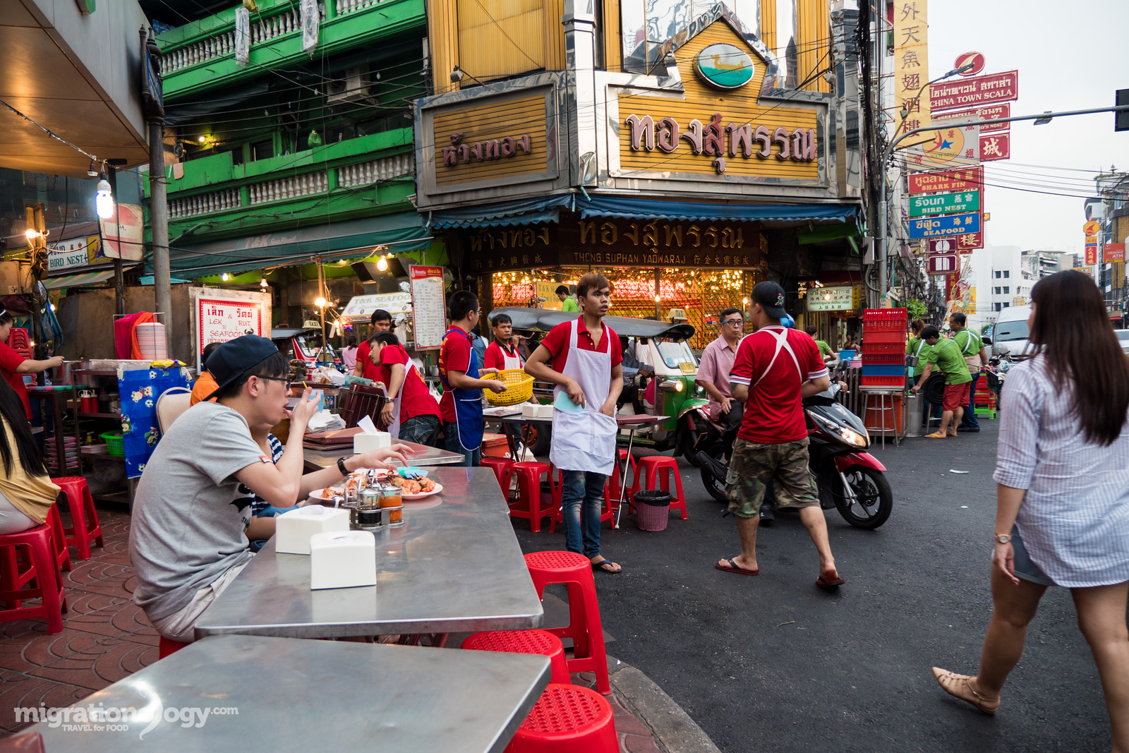 seafood restaurant Bangkok