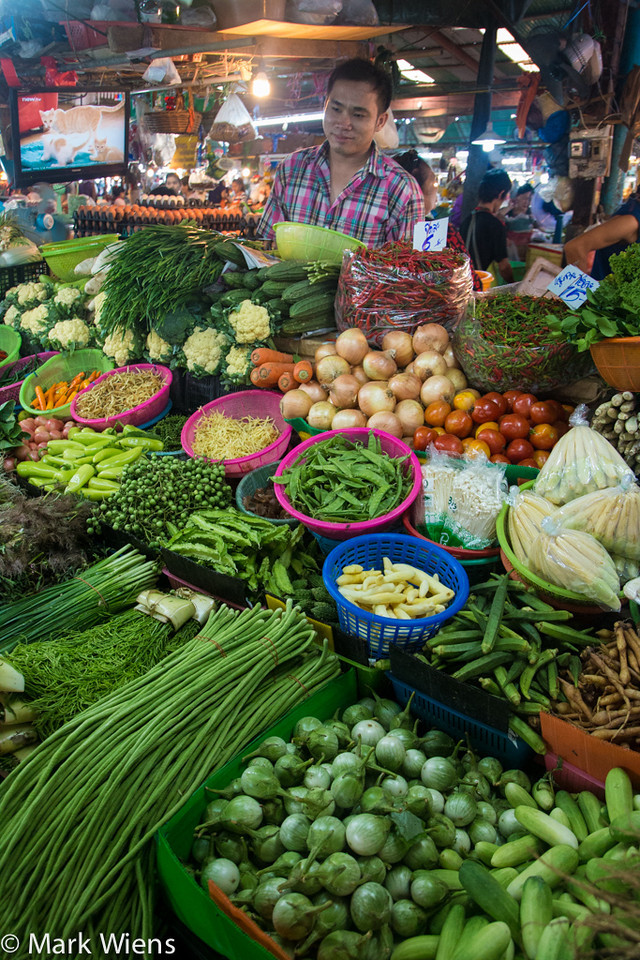 Vegetables in Thailand