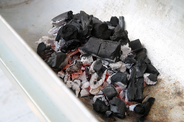 Get your charcoal started