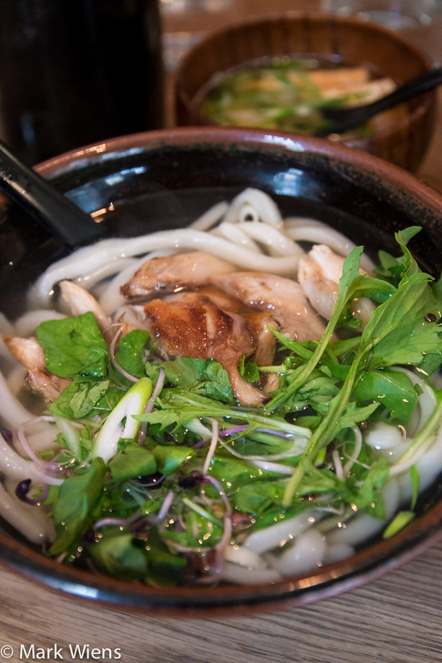 Saba (mackerel) udon