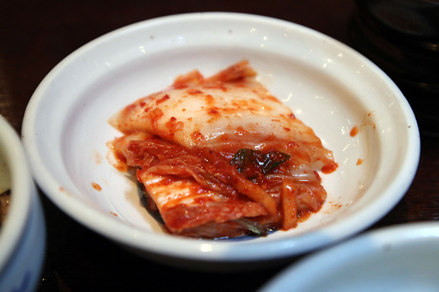 You can't go wrong with kimchi!