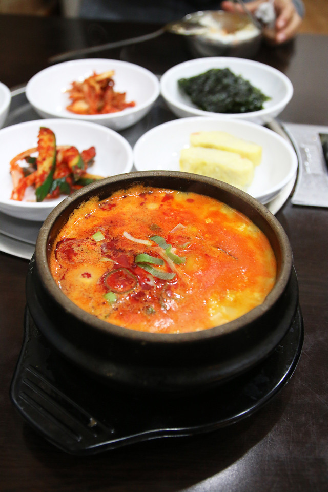 IMG 0999 640x960 Sundubu Jiggae (재동순두부)   Is This the Worlds Most Comforting Comfort Food?
