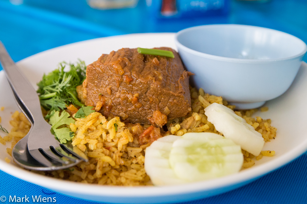 Thai biryani in Chiang Mai