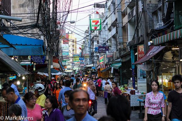 Thai street food in Bangkok