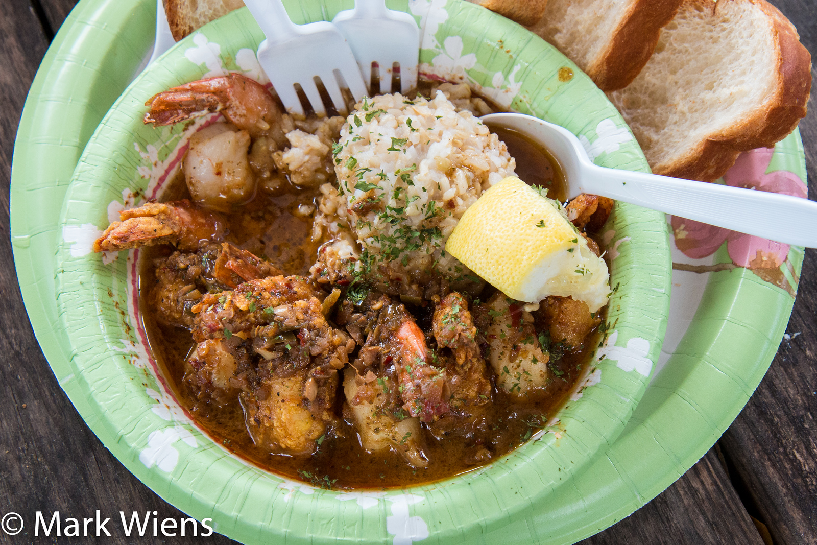 New Orleans Style BBQ Shrimp at Dat Cajun Guy