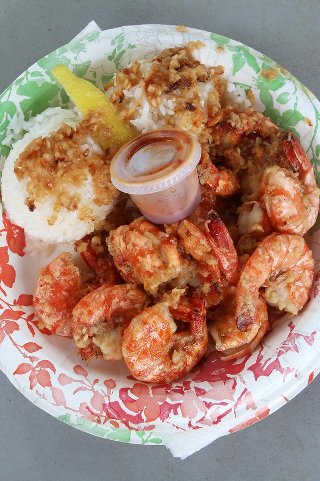 Giovanni's Shrimp Truck - Shrimp Scampi