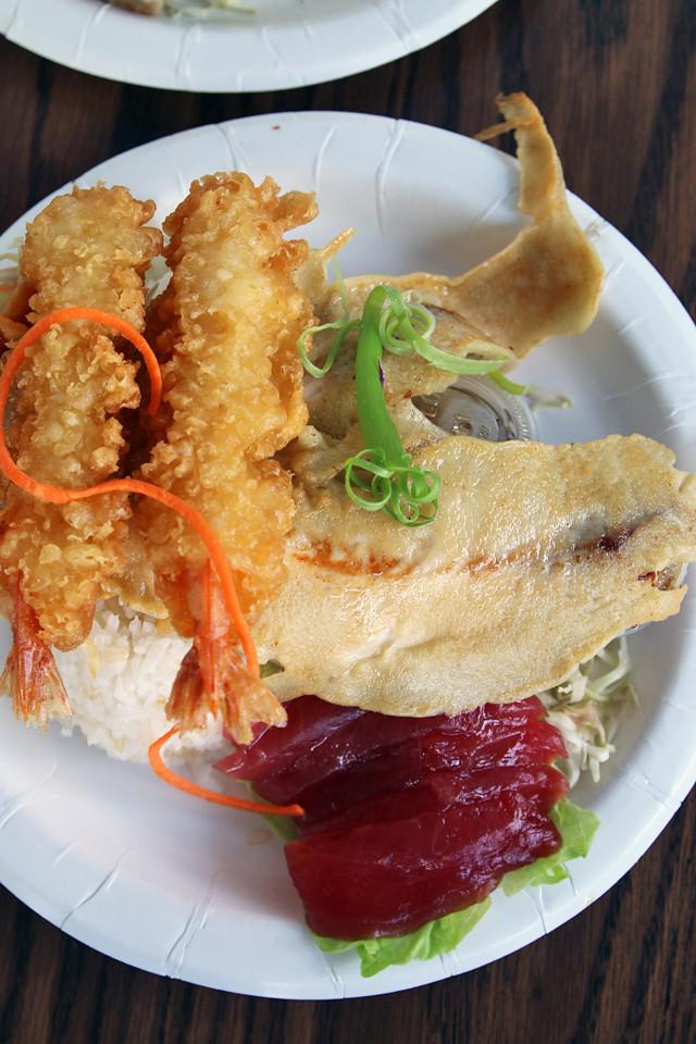 Fresh seafood plate