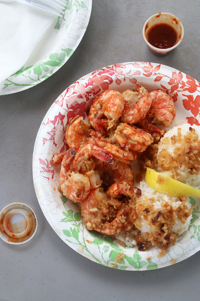 Should you eat at a shrimp truck in Hawaii?