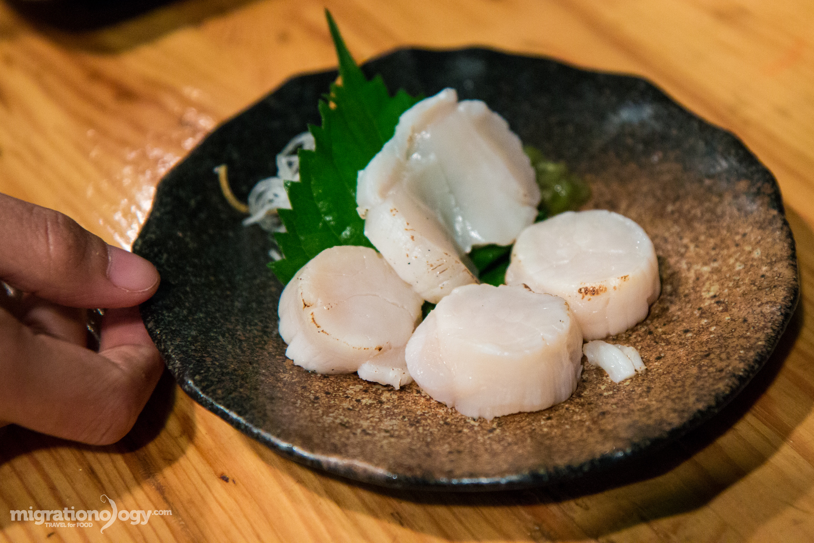 scallops in Japan