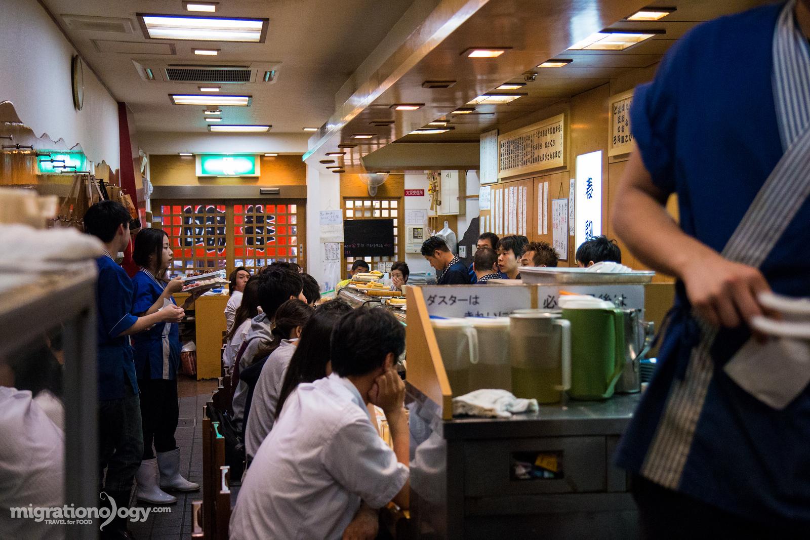 best sushi in Osaka, Japan