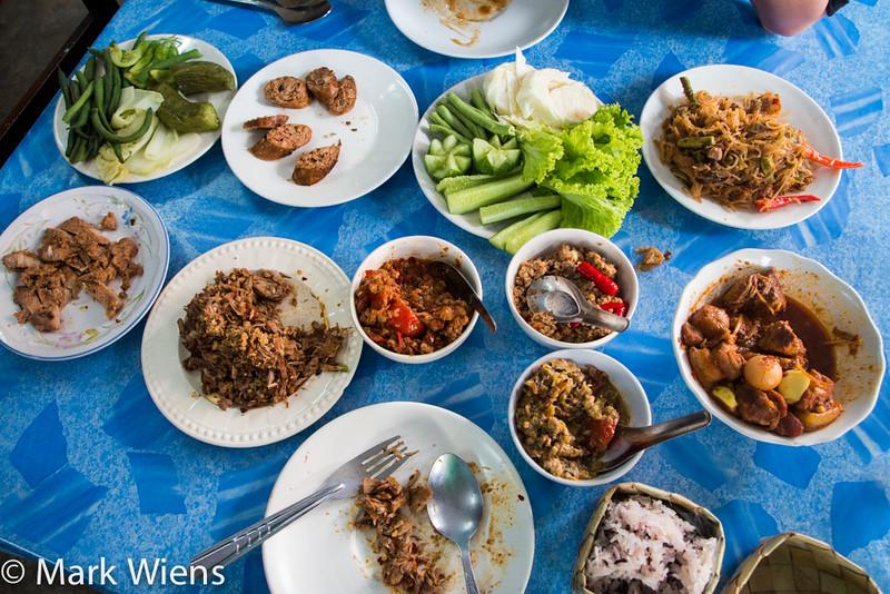 Northern Thai food in Lampang