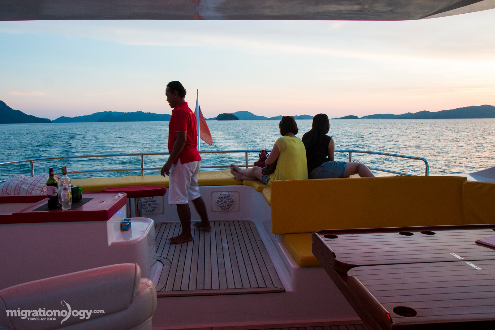 Sunset dinner cruise in Langkawi