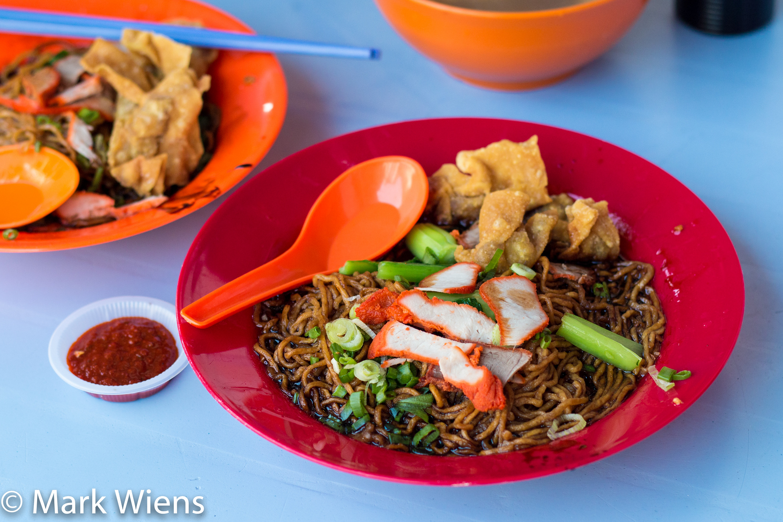fried wantan mee