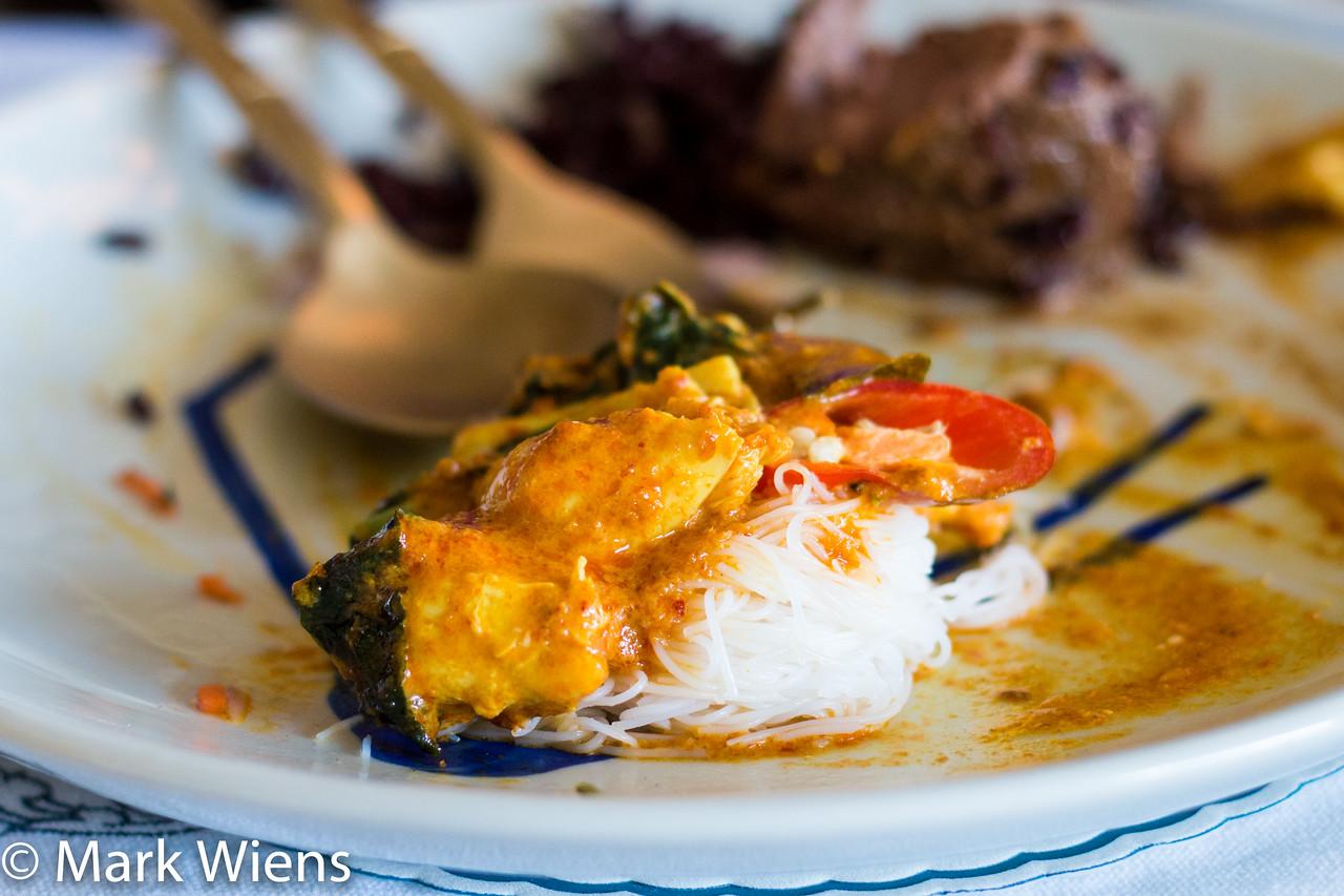 Thai crab curry
