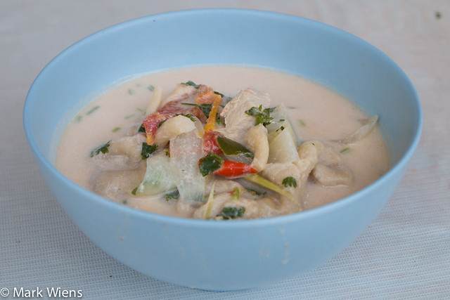 tom kha gai recipe 10 640x427 Tom Kha Gai Recipe (วิธีทำ ต้มข่าไก่)   Authentic Thai Style