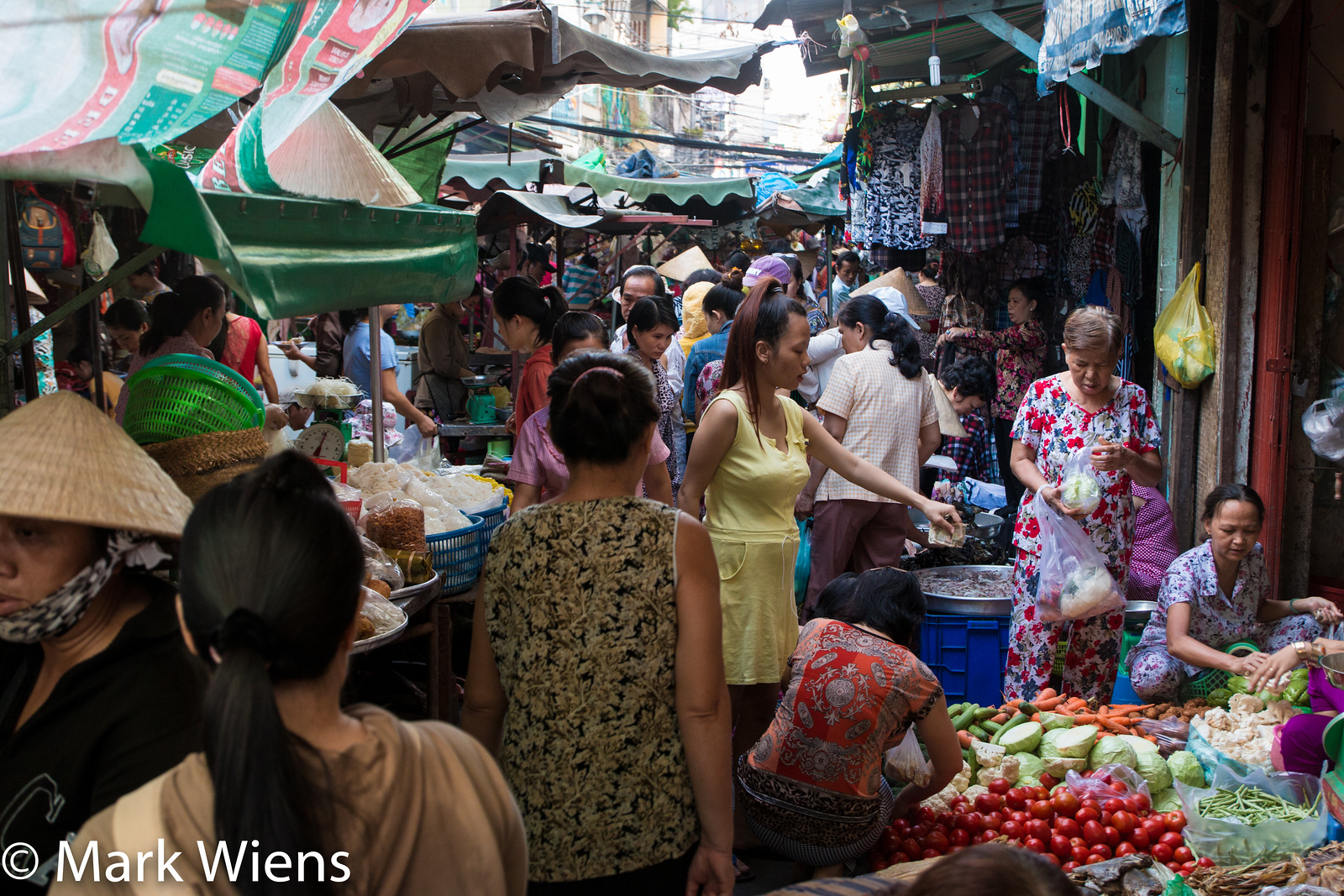Saigon markets