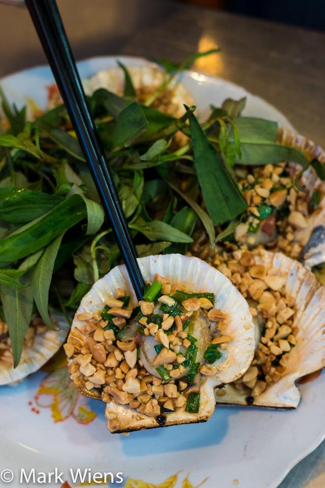Vietnamese scallops