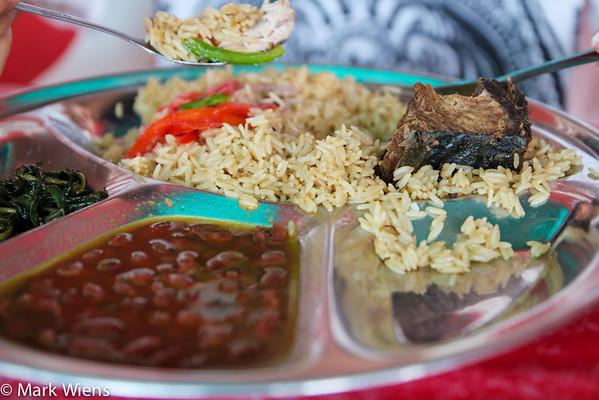 Zanzibari rice pilau