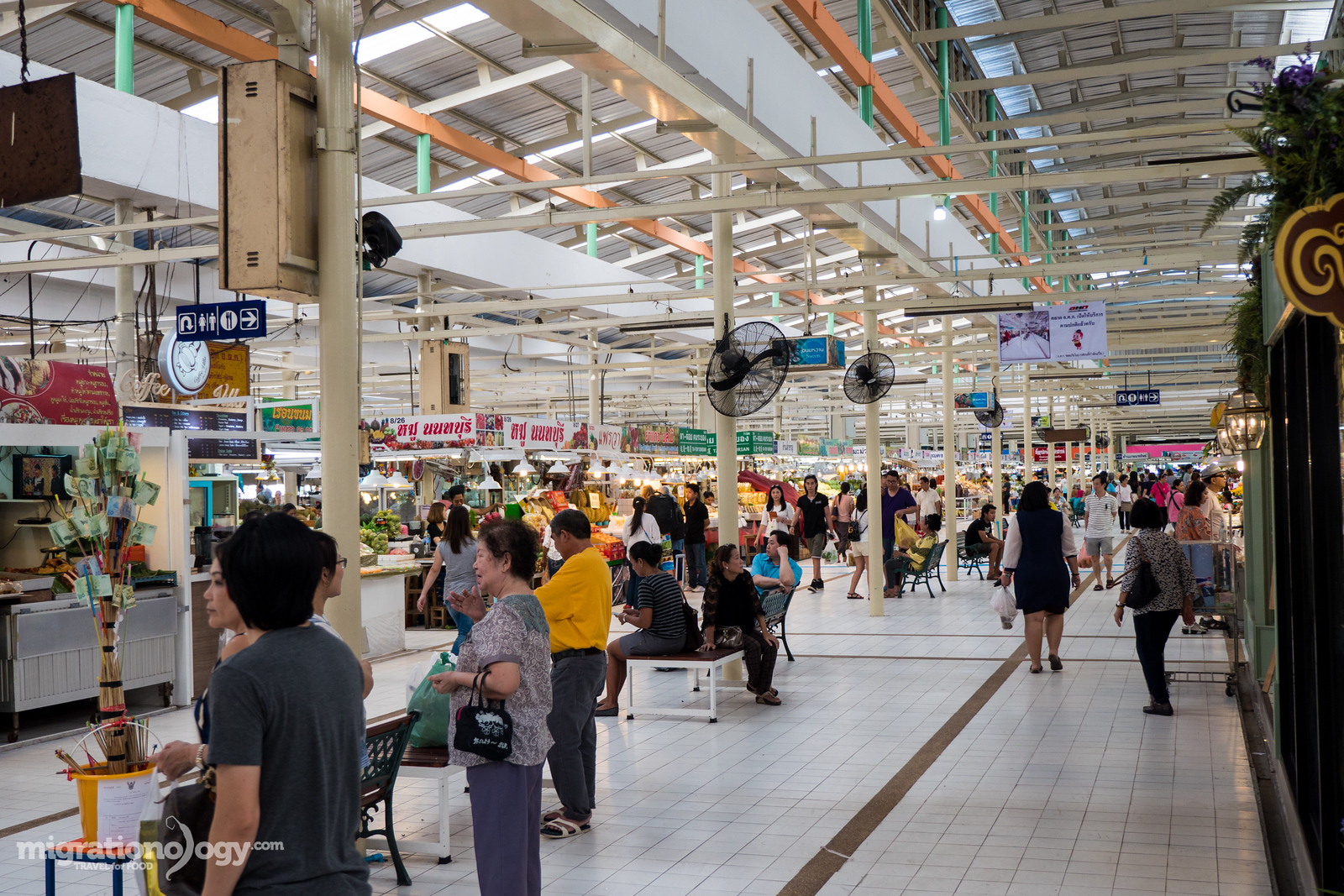 best fresh markets in Bangkok