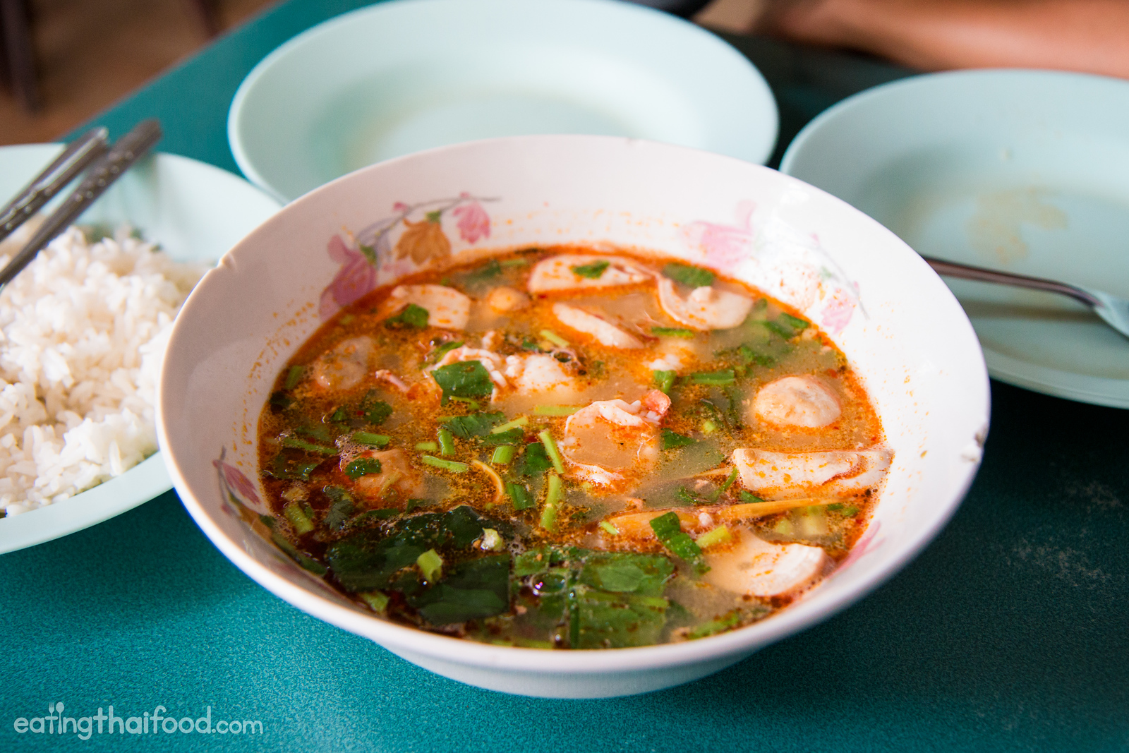 best tom yum goong in Bangkok