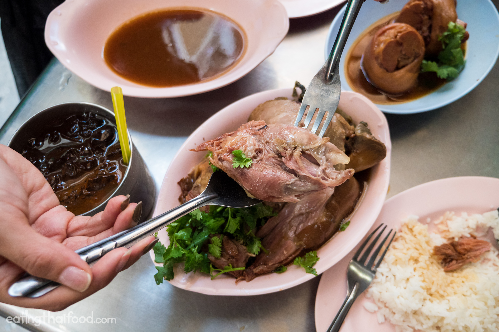 best braised pork in Bangkok