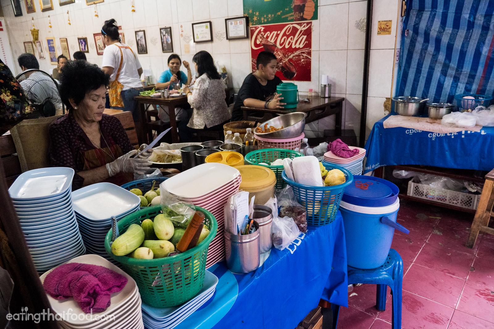 Wang Lang Market in Bangkok