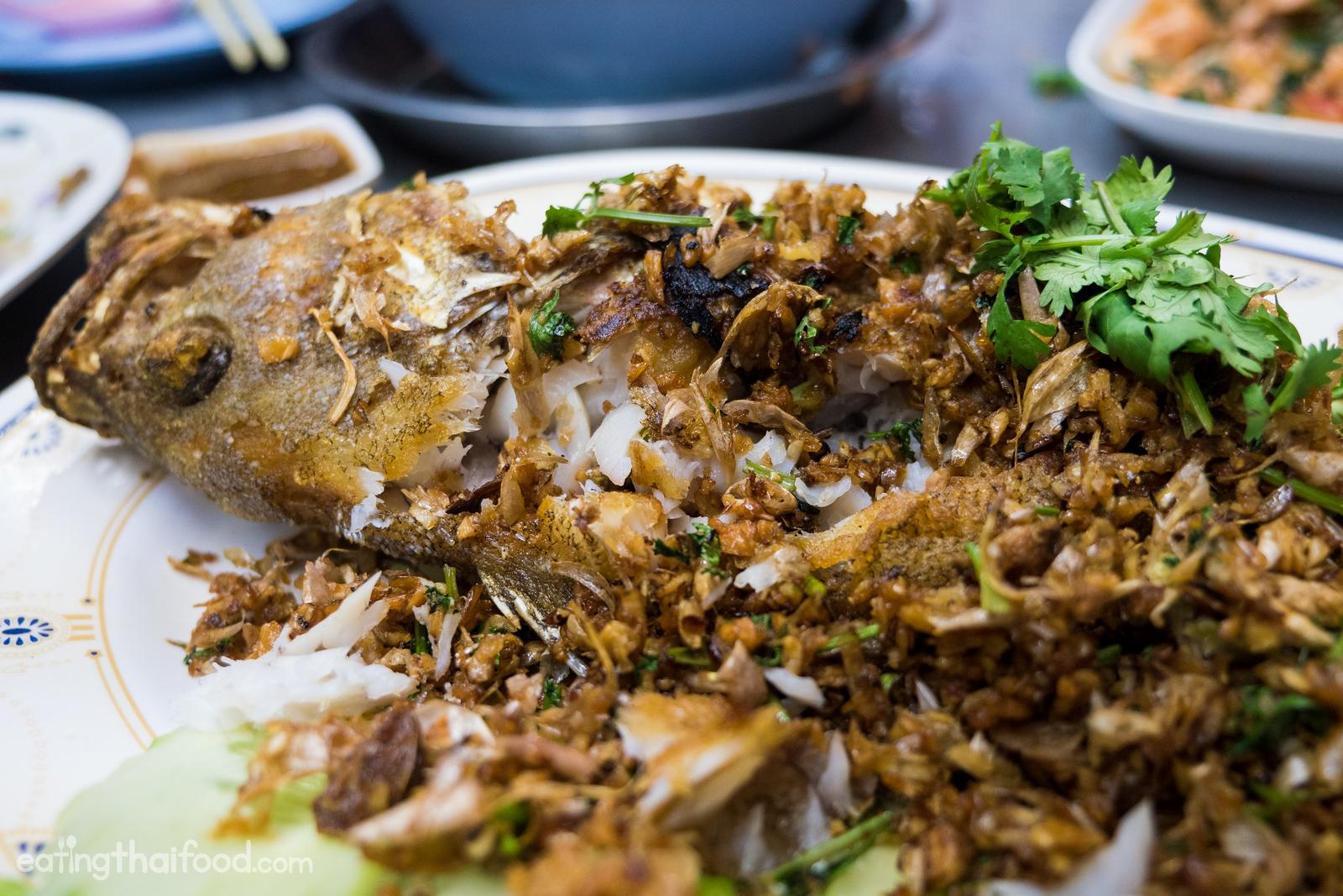 Thai fried fish
