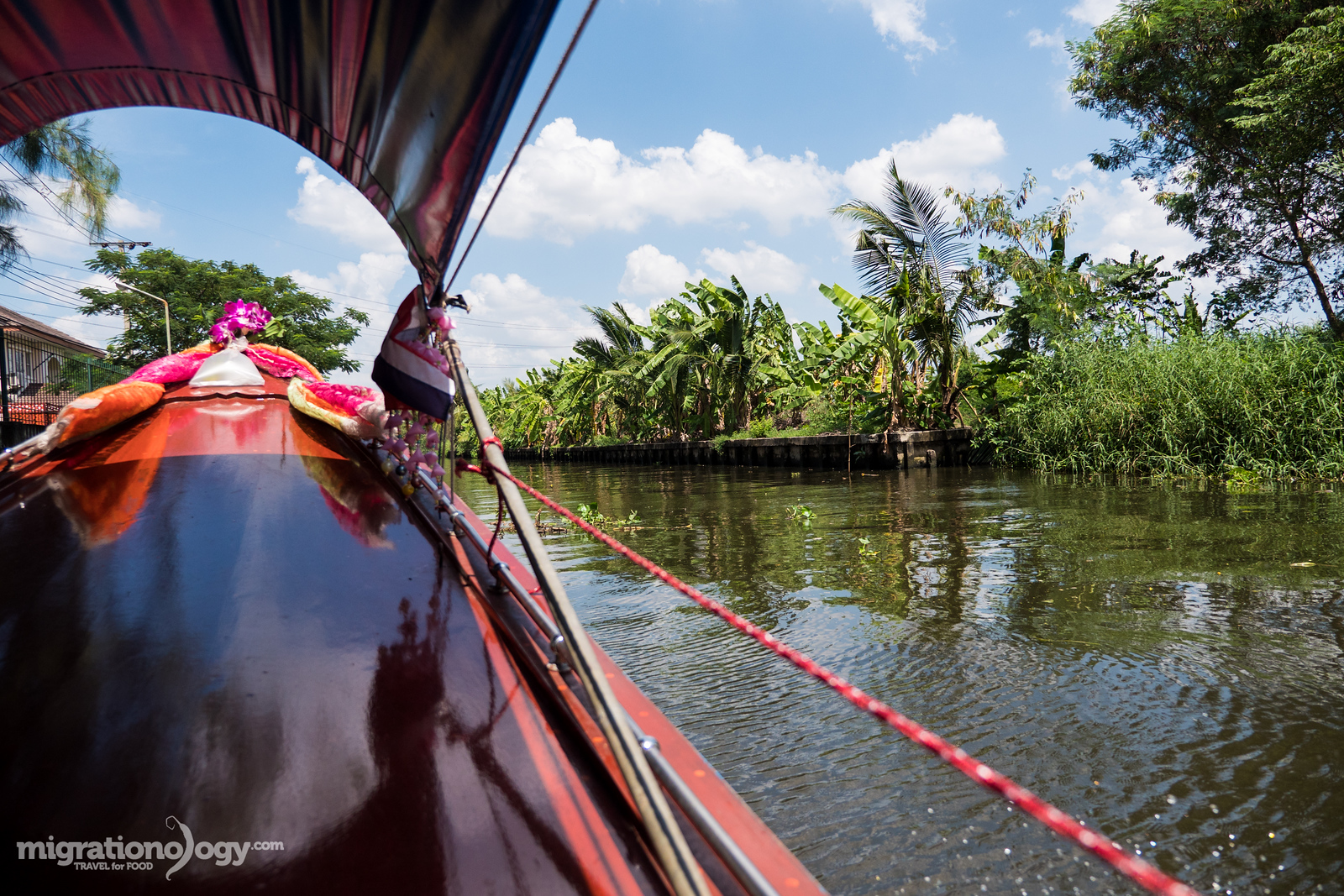boat ride tour in Thailand