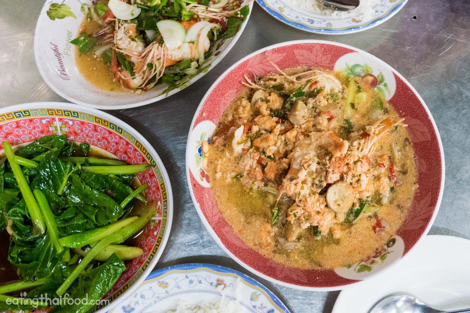 Tom yum goong in Bangkok