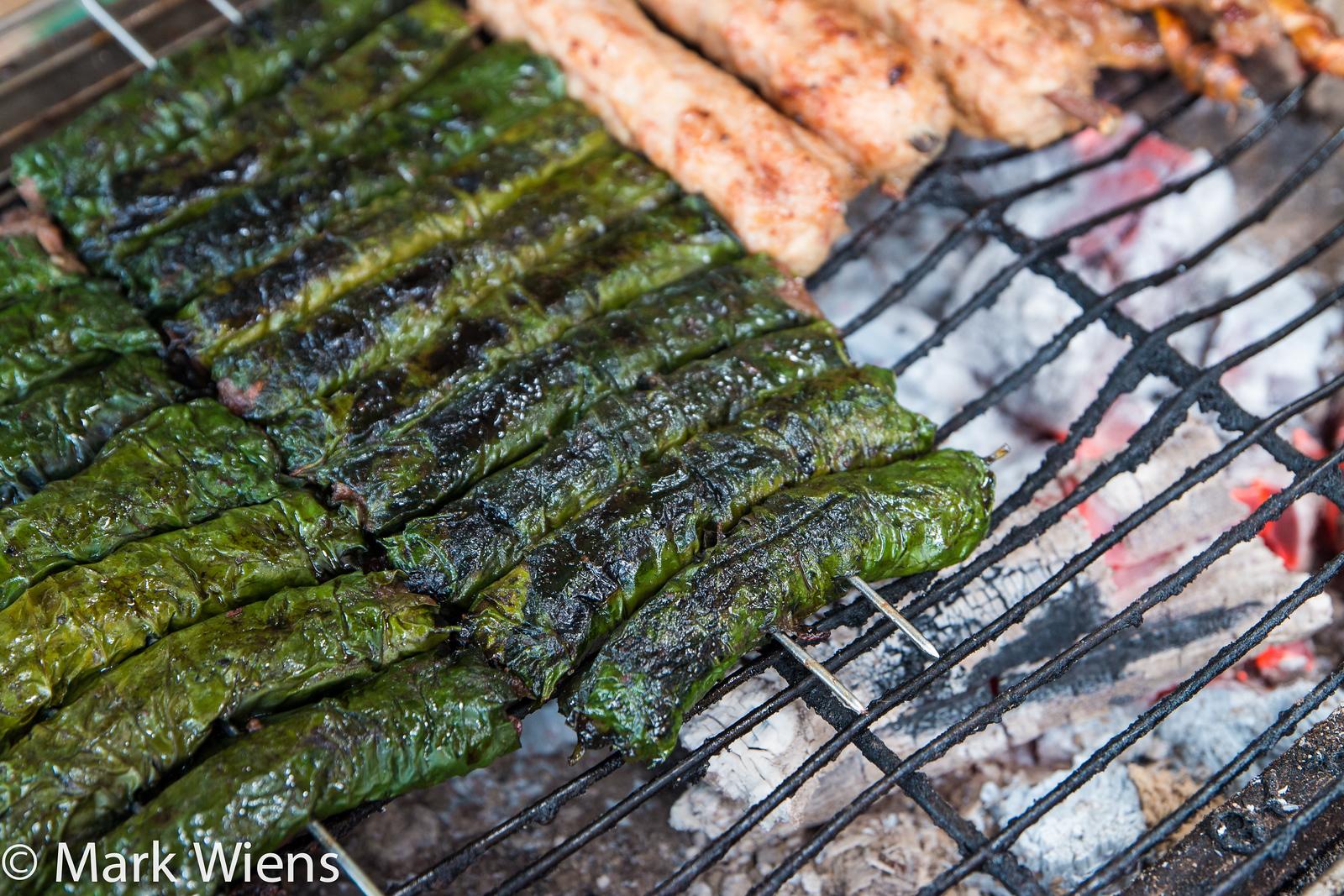 Thịt bò nướng lá lốt