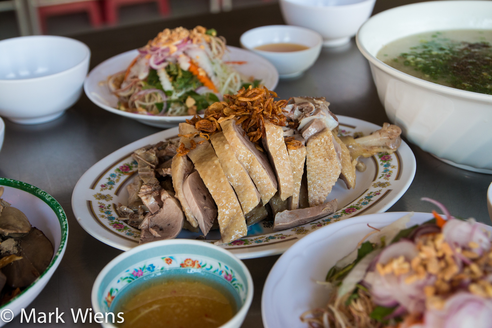 Vietnamese food 25 must eat dishes in saigon and where to try them the side dishes of a vietanemse cho chao meal forumfinder Choice Image