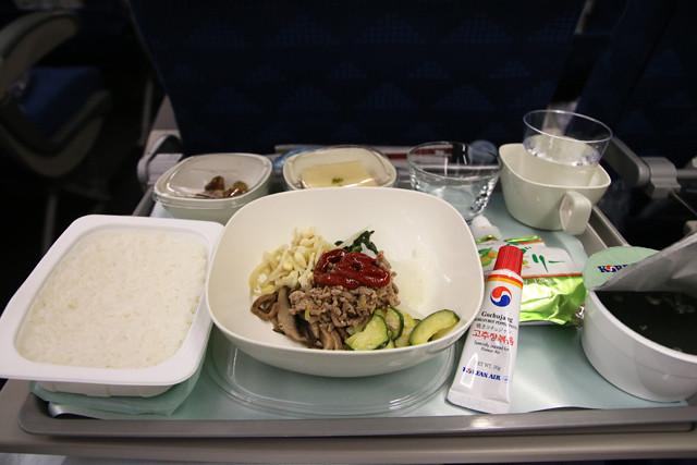 Bibimbap on Korean Air
