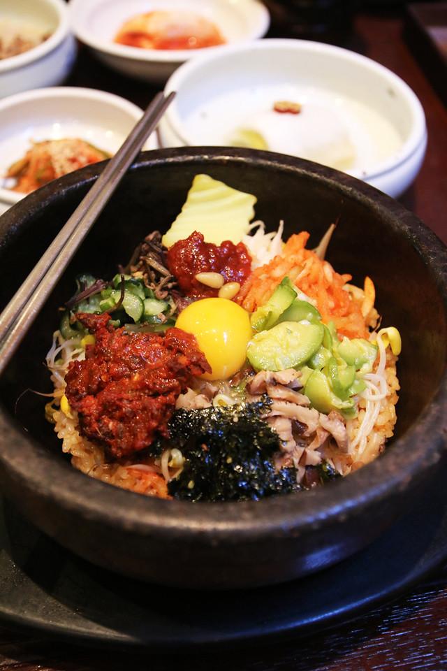 Gogung Bibimbap in Seoul, South Korea