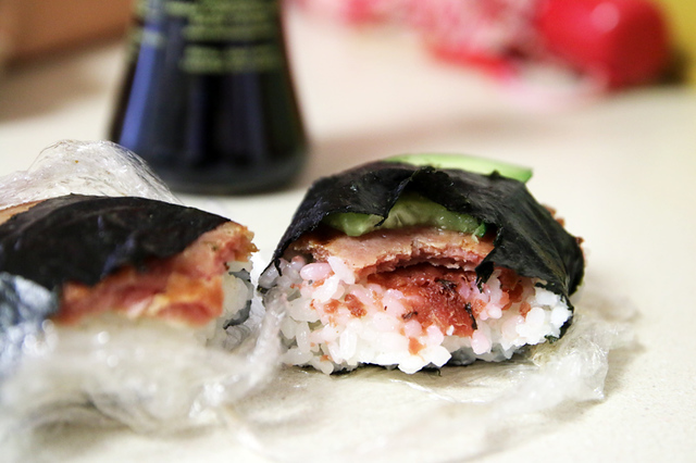 The guts of that ume musubi