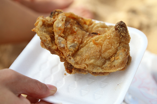 You can't go wrong with this fried chicken!