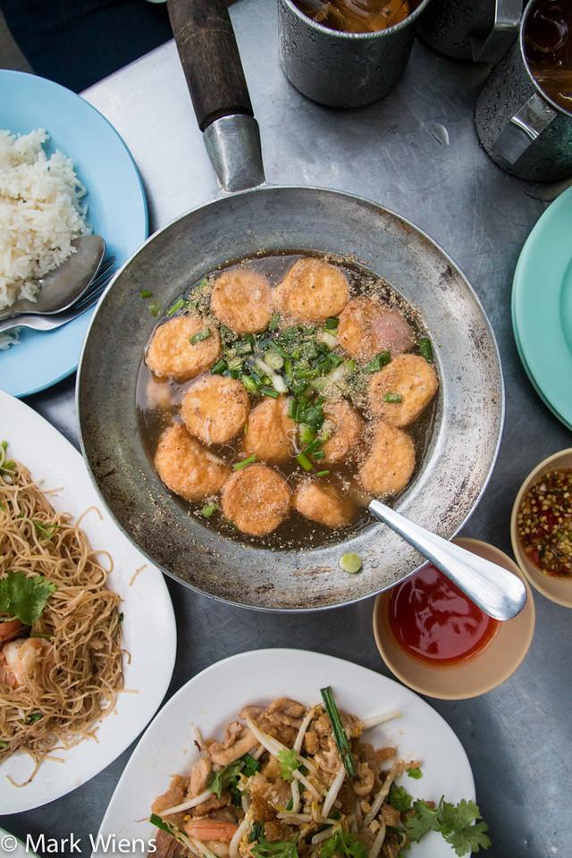 Chinese street food in Bangkok