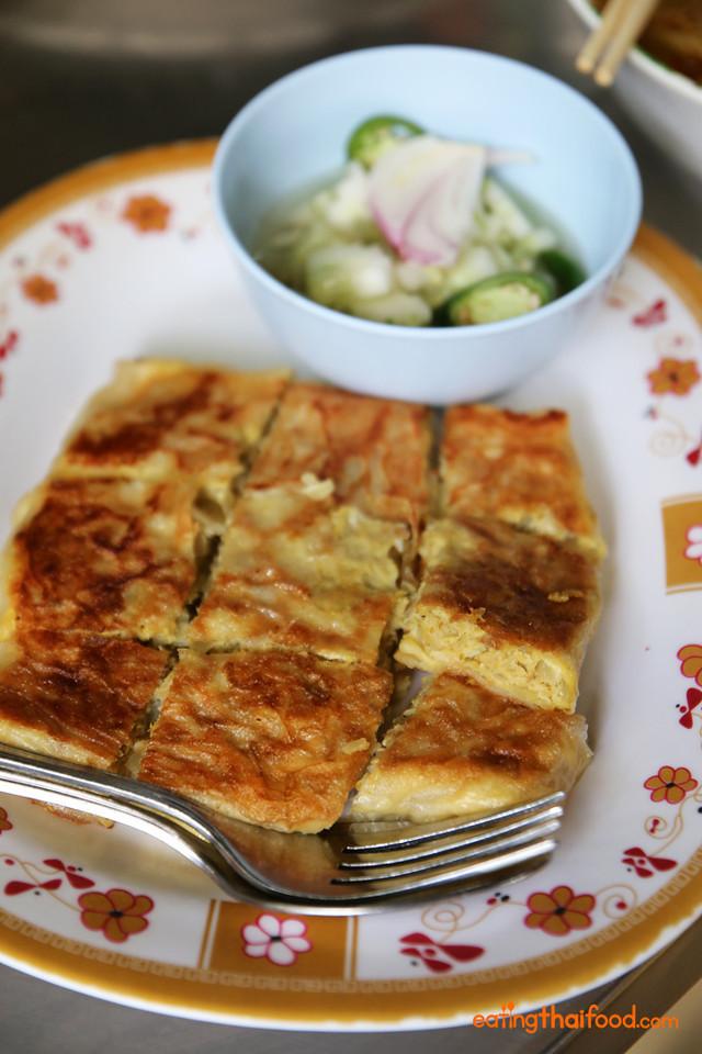 Mataba pla (มะตะบะปลา) - Fish roti