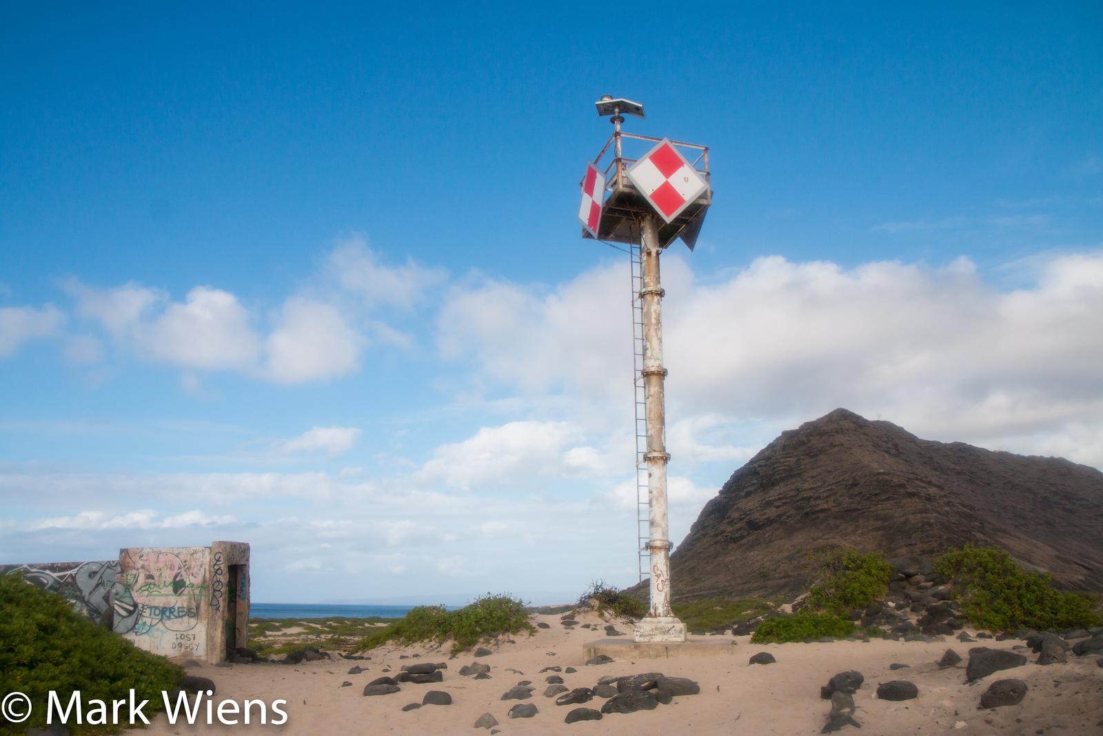 Ka'ena Point lighthouse