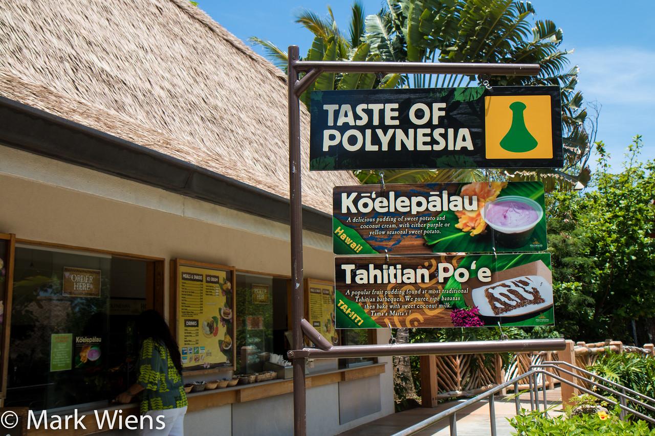 Polynesian food