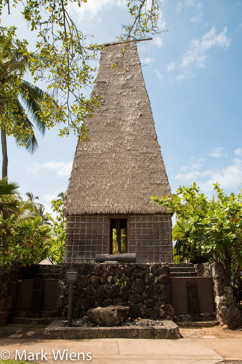 Fijian temple