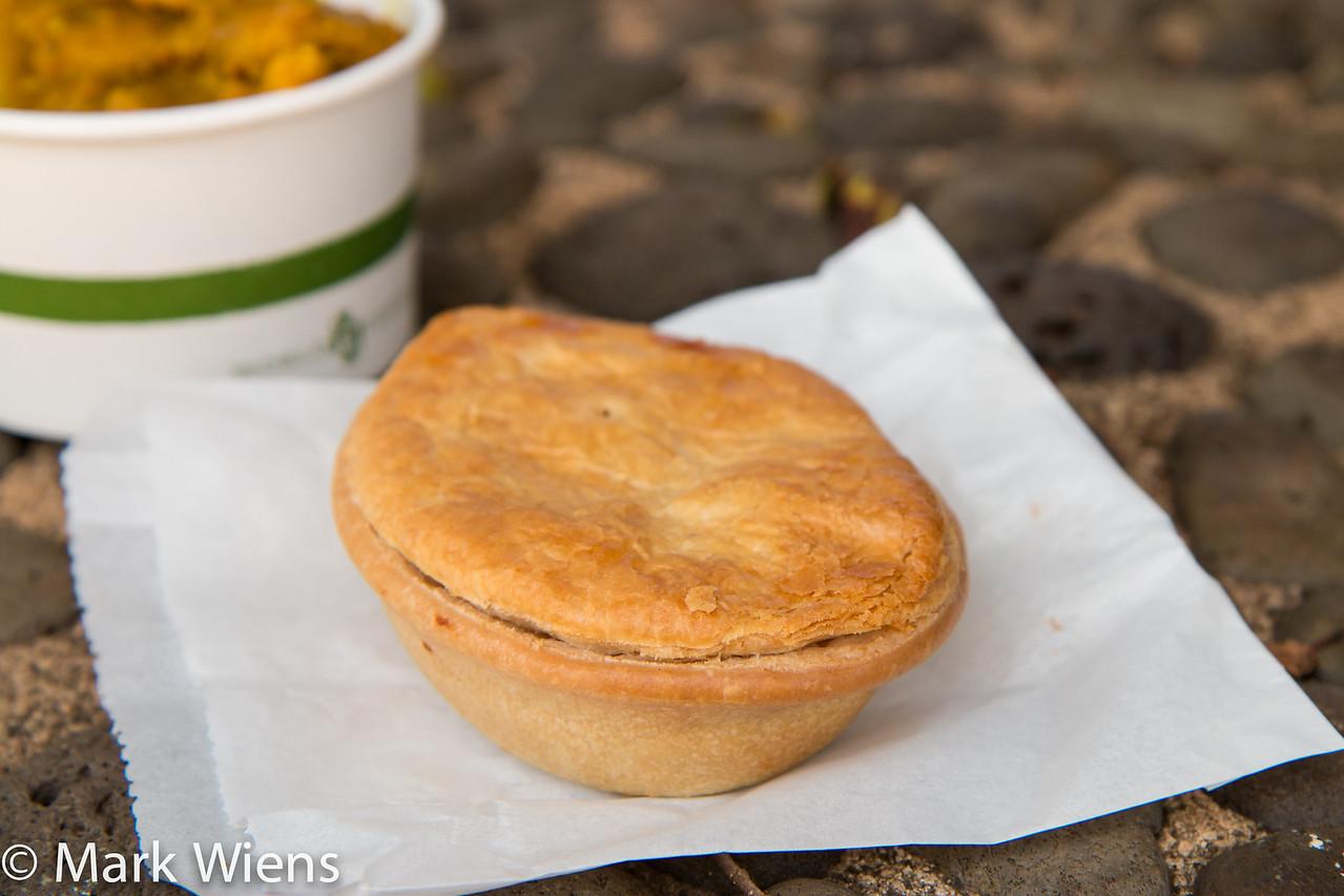 New Zealand meat pie