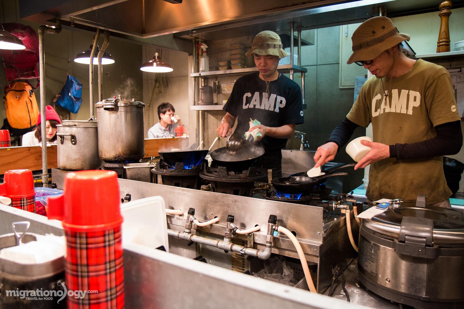 Camp Curry (野菜を食べるカレー)