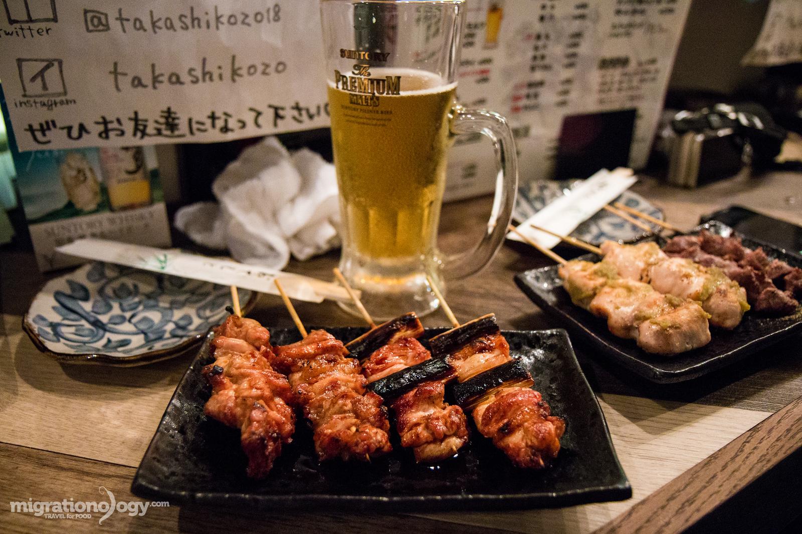 izakaya food in Japan