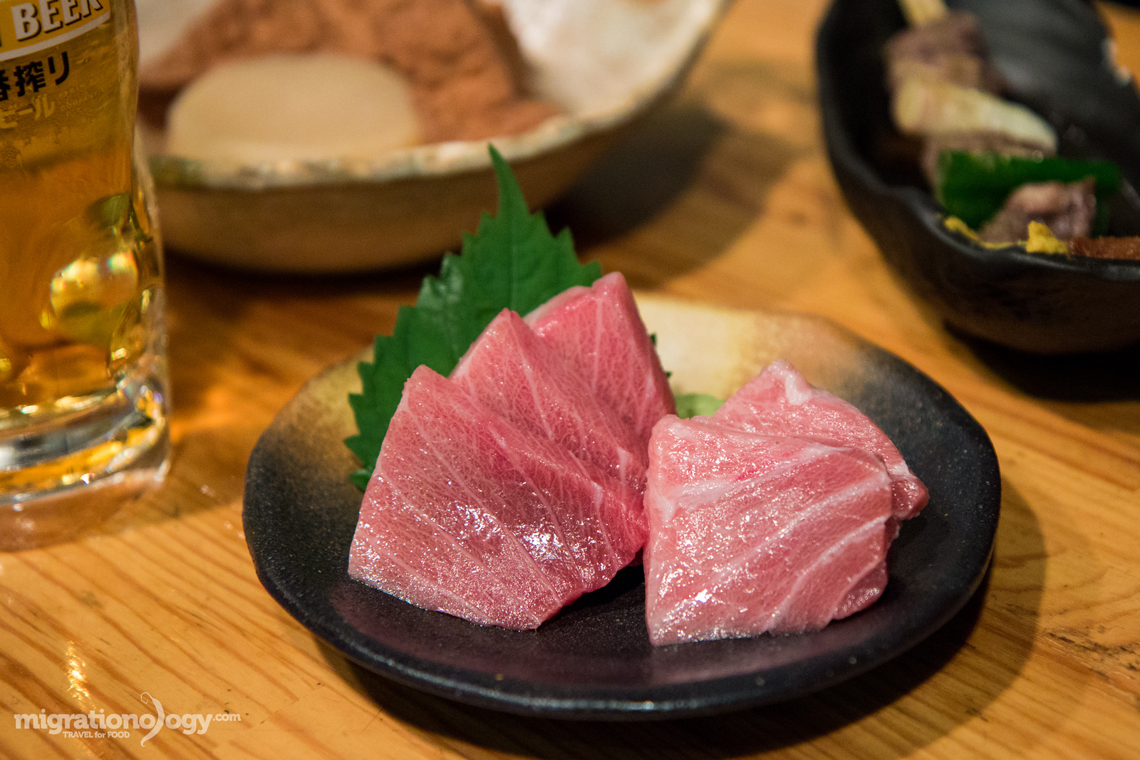 tuna belly in Osaka