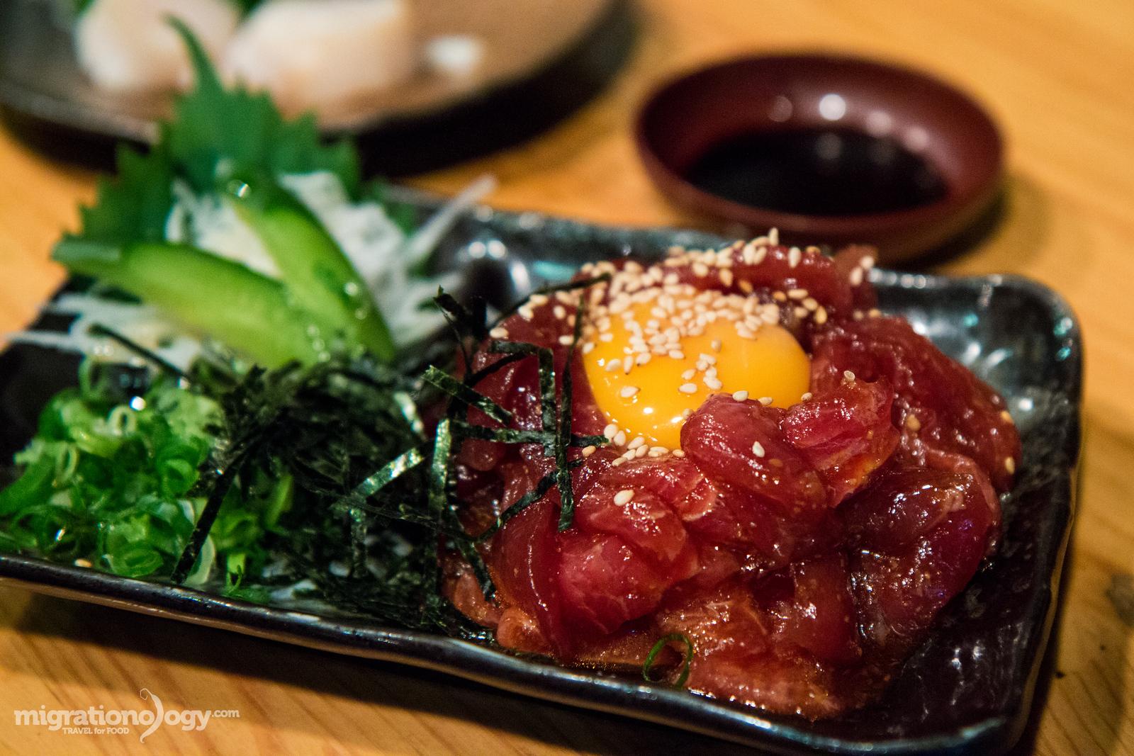 eating in Osaka