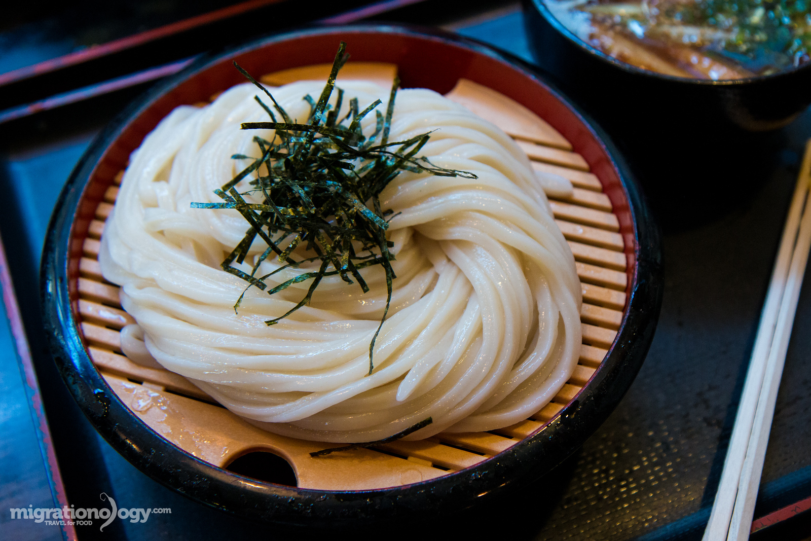 udon noodles in Japan
