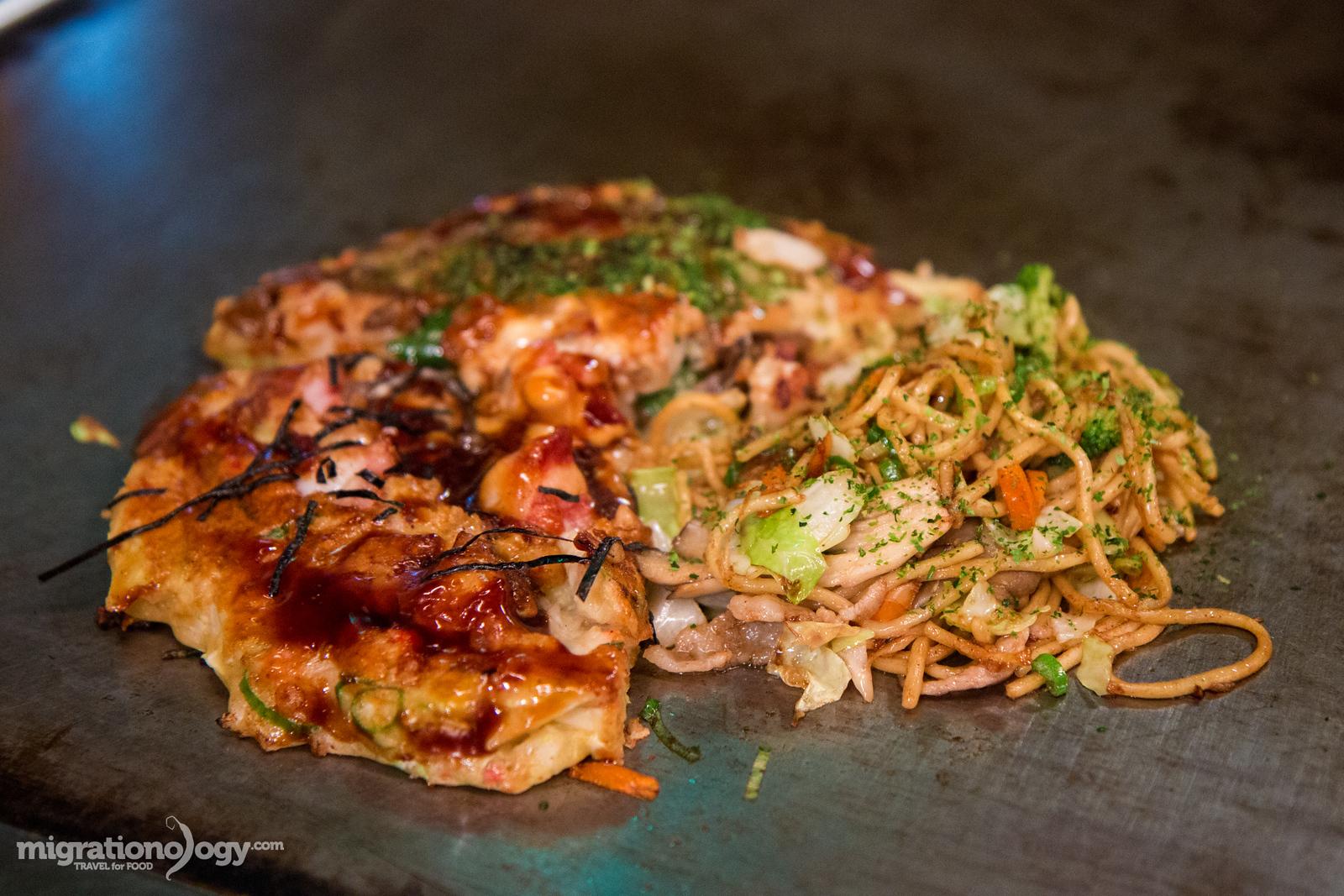 osaka famous food