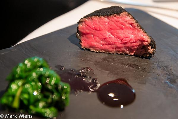 """""""Sumi 2009"""" Kobe beef at Narisawa, Tokyo, Japan"""