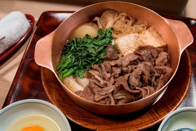best sukiyaki in Tokyo