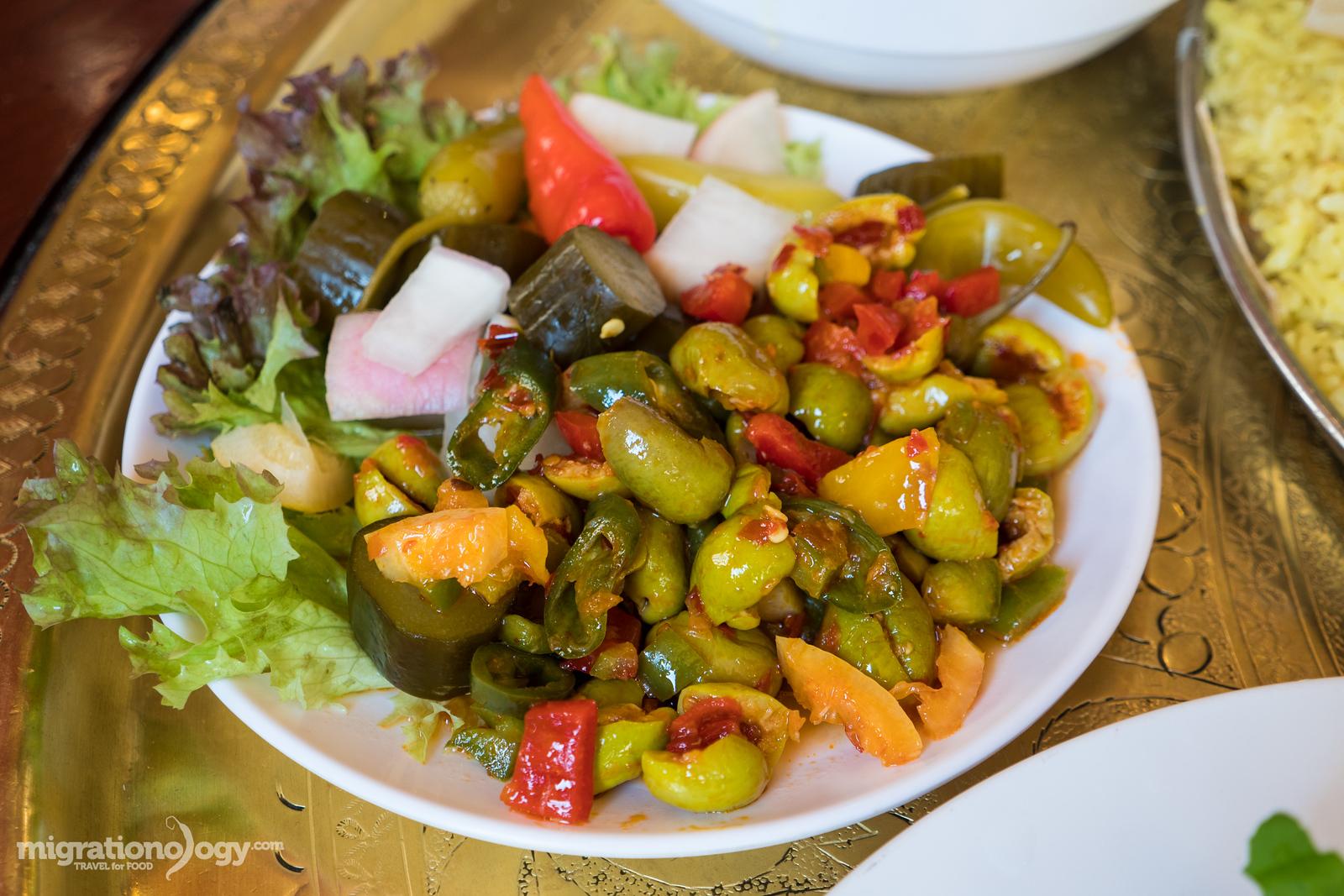 chili olives